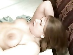 Amateur, BBW, Creampie, Interracial, Threesome