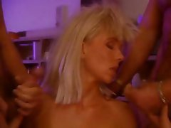Double Penetration, Group Sex, MILF, Pornstar, Vintage