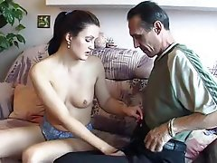 Anal, Blowjob, Brunette, Russian, Old and Young