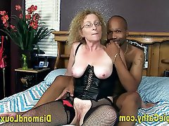Creampie, Interracial, Mature