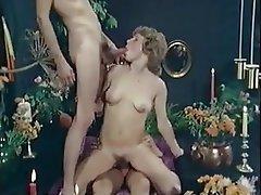 Nerd, Double Penetration, Facial, Threesome, Vintage