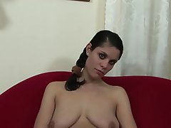 Teen, Blowjob, Brunette, Foot Fetish, Hairy