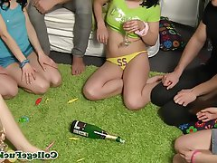 Blowjob, Group Sex, Teen, Bottle