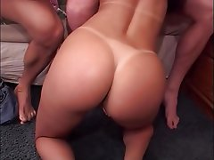 Anal, Brunette, Double Penetration, Threesome
