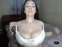 Big Boobs, Big Nipples, Webcam, Softcore