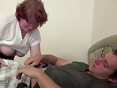 Cum in mouth, Granny, Hardcore, Old and Young