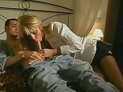 Blonde, Blowjob, Cumshot, Facial