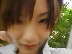 Masturbation, Japanese, Brunette
