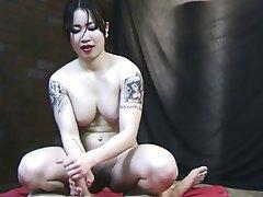 Amateur, Asian, Handjob, Interracial