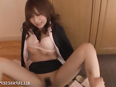 Asian, Blowjob, Cumshot, MILF, Panties