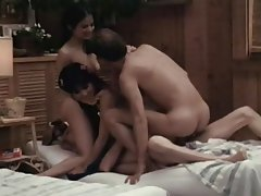 Asian, Double Penetration, Group Sex, Hairy, Vintage