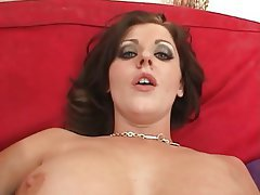 Big Boobs, Brunette, Cumshot, Interracial, Threesome