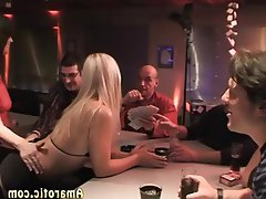 Blonde, Czech, Gangbang, Group Sex