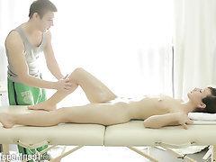 Babe, BBW, Massage