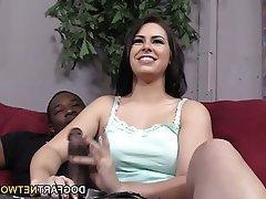 Big Butts, Brunette, Interracial